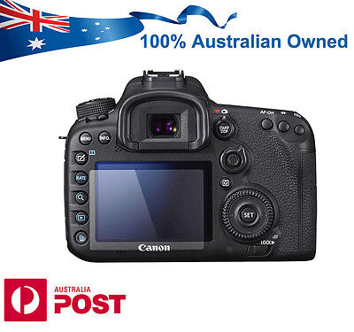 Pro Tempered Glass Screen Protector Guard for Canon EOS 80D 7DII 70D DSLR Camera