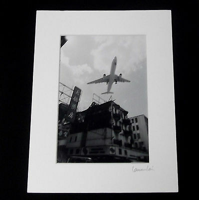 Signed Transportation Photograph by Laurence Lani - The Last Day Of The Airport.