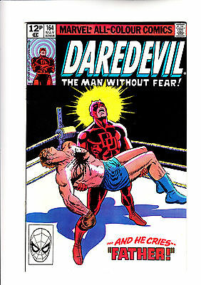 Daredevil 164 Frank Miller origin issue