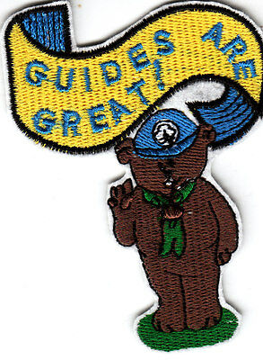 Girl Guide Badge GUIDES ARE GREAT !