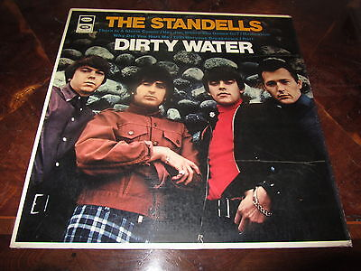 THE STANDELLS DIRTY WATER Rare Italy 1966 CAPITOL LP Nice Copy
