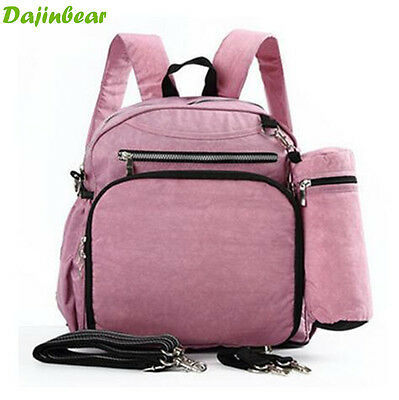3 PCS/ Set nappy bags baby diaper bags mummy maternity Backpack shoulder bag New