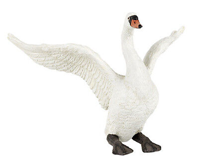 FREE SHIPPING | Papo 50115 White Swan Bird Figurine Replica Toy - New in Package