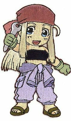 FullMetal Alchemist FMA Winry Rockbell Official Iron/Sew On Patch new sealed