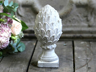 French Antique Style Fir Cone Cast Architectural Finial Bookend Ornament Vintage