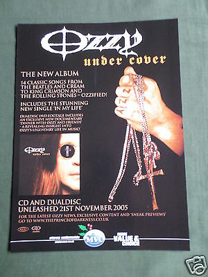 Ozzy Osbourne - Magazine Clipping / Cutting- 1 Page Advert