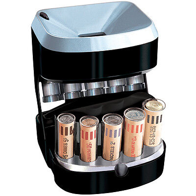 NEW Rapid Coin Sorter- Organize Your Loose Change Into Wrappers Automatically