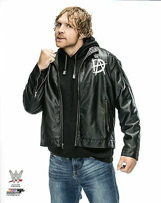 "WWE DEAN AMBROSE PHOTO STUDIO 8x10"" OFFICIAL WRESTLING PROMO"