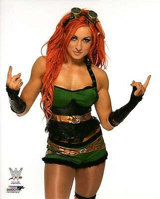 """WWE PHOTO BECKY LYNCH NXT 8x10"""" OFFICIAL WRESTLING PROMO"""