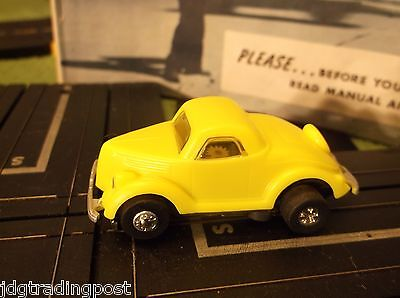 MINT Ford Coupe JL Tough Ones Chassis Atlas Slot T Jet Race Track Car