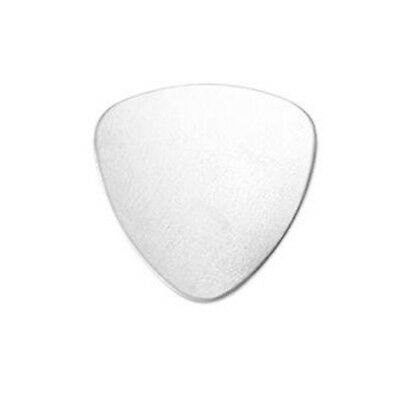 """Metal Stamping Blanks Guitar Pick Blanks Charms Blank Charms 7/8"""" Aluminum"""