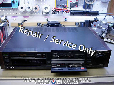REPAIR / SERVICE of SONY Hi8 EV-S3000 / 2000 / 5000 / 7000 /900 VCR (*READ 1st*)