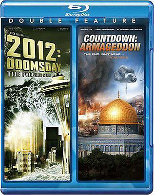 2012: Doomsday & Countdown: Armageddon [Blu-ray] SEALED/NEW 2 great movies!