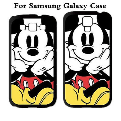New Samsung Galaxy S5 S6  Cartoon Mickey Mouse Hard Case Cover