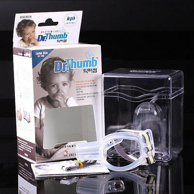 New Dr.Thumb-guard stop Thumbsucking Treatment Kit For Baby & Child, Excellent!!