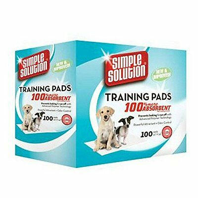 Simple Solution Training  Pads, Pack of 100 **BRAND NEW**