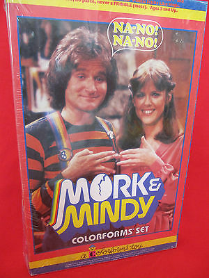 Mork And & Mindy Nano Colorforms Set Complete Mib Sealed