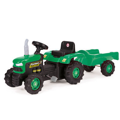 New Kids Dolu Ride On Pedal Tractor With Trailer 8053