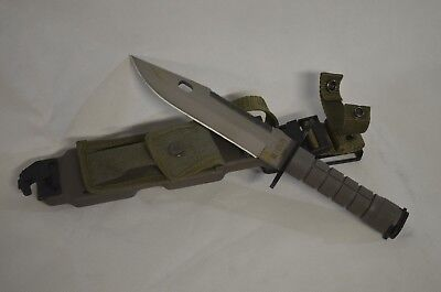 Heavy Duty Military Saber  M9 Knife With Sheath