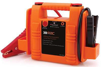 Heavy Duty Rac 12V 400A Car Van Jump Starter Battery Booster Charger Leads Cable