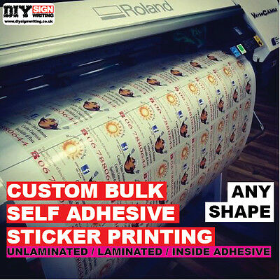 Custom Sticker Vinyl Printed Bulk Order Decals Labels Logos Signs Stickers