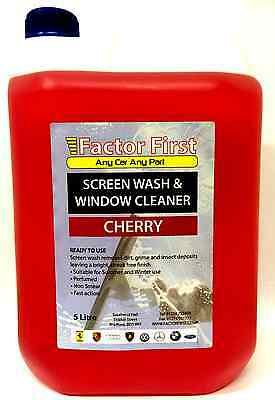 SCREENWASH CHERRY CONCENTRATE 5L Chemicals Cleaning - SW1021