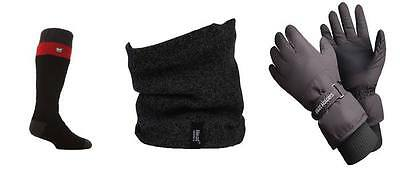 Heat Holders - Mens Ski Clothes Set including Ski Socks, Gloves and Neckwarmer