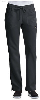 "Scrub Careisma by Sofia Vergara Charming ""Jaden"" Low Rise Pant CA105A  Black"