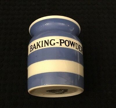 T.g. Green Cornishware Baking-Powder Spice Jar