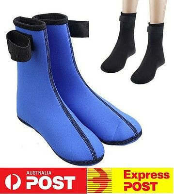 NEW Pair Diving Scuba Surfing Swimming Water Sports Sand Socks Boot Wet Neoprene