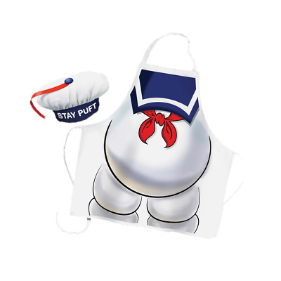 Official Ghostbusters Stay Puft Apron And Hat Set