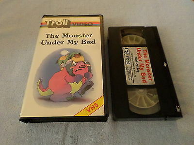 The Monster Under My Bed - (Vhs, 1988) - Troll Video