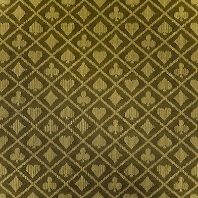 6 Feet Two-Tone Gold Poker Table Waterproof Suited Speed Cloth - Item 50-0096x6