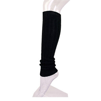 Premium Solid Color Soft Rib Knit Leg Warmers - Different Colors Available