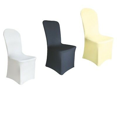 Spandex / Lycra Chair Cover White / Black /ivory Covers Banquet Wedding Party