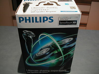 Philips RQ1250 SensoTouch 3d Wet Dry Shaver with Original Packaging
