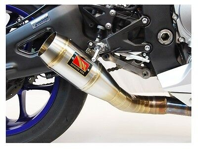 Competition Werkes GP Style Exhaust 2015-2016 Yamaha R1 Stainless / WY1010