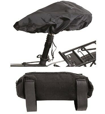 RAIN Waterproof Saddle Cover Seat Protector With Stowaway Bag