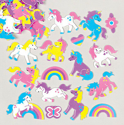 Unicorn Foam Stickers for Children to Decorate Arts & Crafts (Pack of 120)