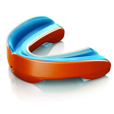 Shock Doctor Gel Nano Orange Mouthguard Adult Official Licensed Rugby Product