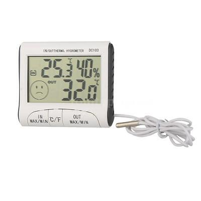 DC103  Digital Hygrothermograph Temperature Humidity Meter Thermometer CN Z4Y7