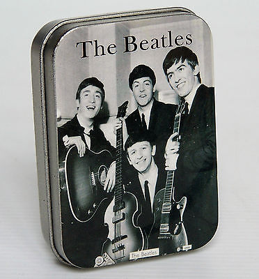 The Beatles Steel Windproof Cigarette Lighter New/old Stock Refillable Gift