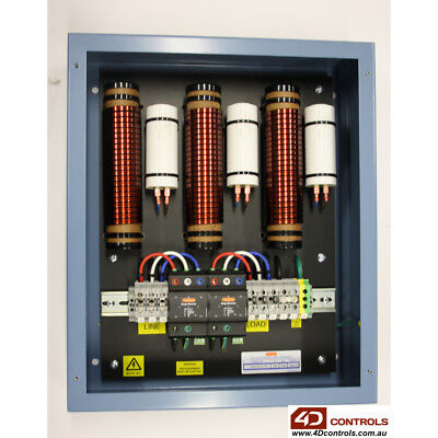 Novaris SFM3-63-50-275-M Medium Current 3 Phase Surge Filter 63A 50KA - New S...