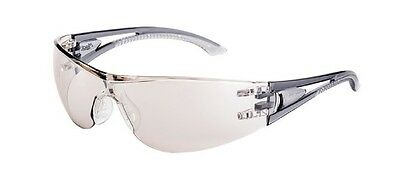 Mack Clear Mirror Lens Safety Glasses New