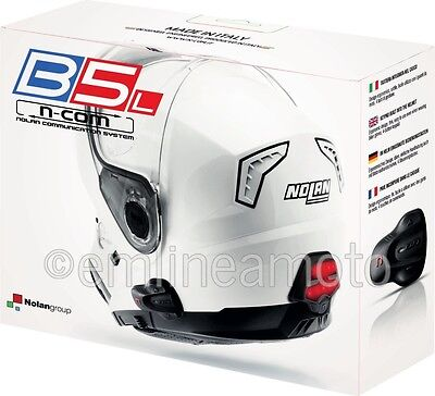 Intercom Single Nolan N-Com B5L Bluetooth Rear Braking Led For Nolan Helmets