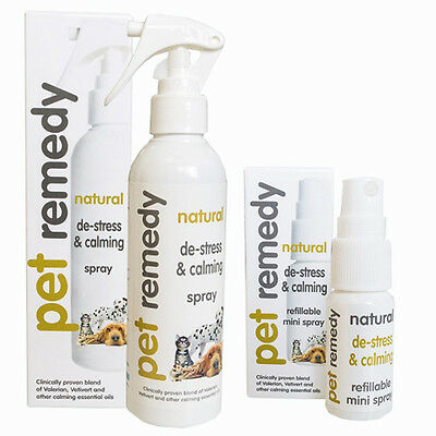 Pet Remedy Calming Spray 15Ml & 200Ml Natural De-Stress & Calming For Dogs, Cats