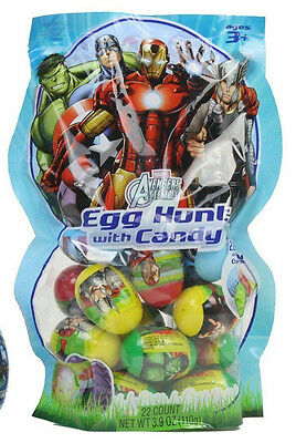 Marvel Avengers Easter Egg Hunt with Candy (16 Count)
