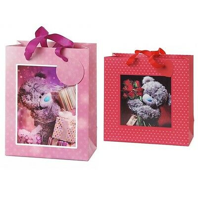 Me to You Tatty Teddy Bear 3D Holographic Present Roses Gift Bag