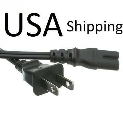 LONG Replacement Power Cord Cable Electric Wire Wall Plug for Lakewood Box Fan