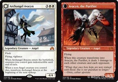 ARCHANGEL AVACYN Shadows over Innistrad MTG White Creature — Angel Mythic Rare